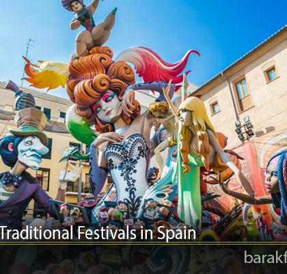 Must Visit Traditional Festivals in Spain